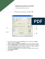 Pasos Para Imprimir Una Presentación en Powerpoint