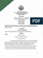 Medford City Council agenda October 6, 2015