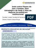 Presentación Alineamiento de Planes Facultad-unidad FINAL