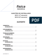 Física - mecânica - questões de vestibulares de 2015.pdf