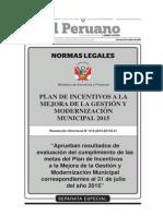 Separata Especial 1 Boletin Normas Legales 02-10-2015 - TodoDocumentos.info