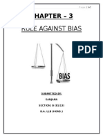 Rule Against BIAS