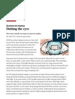 Economist Report on quantum dots