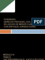 Tercerias Post Grado Proc. Civil  5.ppt