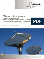 Directivity and Vswr Measurements