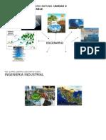 Mapa Mental de Escenario Natural Unidad 2 Desarrollo Sustentable