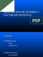 REGULACION DE TENSION Y FACTOR DE POTENCIA.pptx