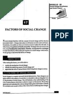 L-17 Factor of Social Change