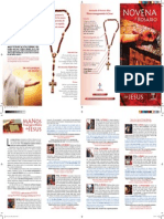 Novena Manos Ensangrentadas de Jesús en Españo.