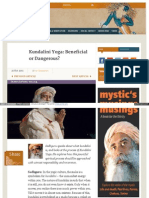 Www Ishafoundation Org Blog Yoga Meditation Demystifying Yog