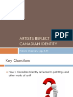 artists reflect canadian identity