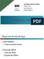 Aula 11 - Aterramento e SPDA.pdf
