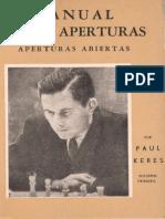 248994924 146438080 Manual de Aperturas Abiertas Paul Keres PDF