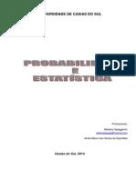 Apostila de Probabilidade e Estatística Parte 1