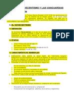 Novecentismo y Vanguardias Instituto OK