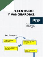 Novecentismo y Vanguardias_ OK