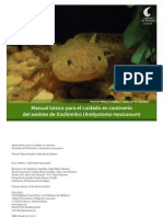 Axolotes,Manual de mantenimiento