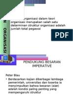 Besaran Organisasi