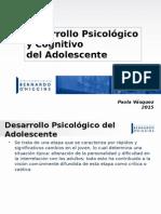 CLASE 7. Desarrollo Psicológico y Cognitivo Del Adolescente