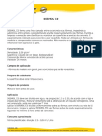 Vedacit - Desmol CD