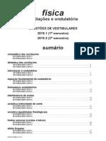 Física - oscilações e ondulatória - questões de vestibulares de 2015.pdf