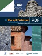 Guia de Actividades Patrimonio 2015