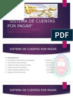 Diapositivas Para Sistema de Cuentas Por Pagar