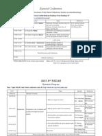 web schedule  2