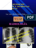9° Clase - POSICIÓN, PROYECCION E INCIDENCIA RADIOLÓGICA.pptx