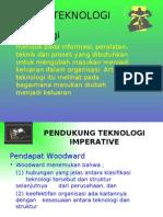 • Teknologi