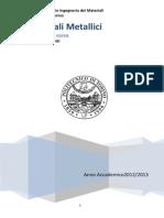 Dispense 2012-2013 Materiali Metallici