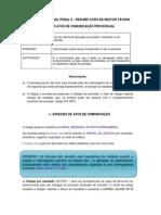 Direito_processual_penal Atos e Sentenças