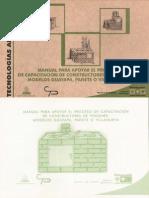 Manual para apoyar el proceso de capacitación de Constructores de Fogones