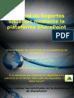 Solicitud de Soportes Sistemas Mediante La Plataforma SharePoint