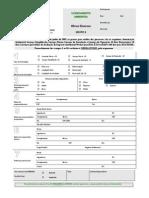 Formulário OBRAS DIVERSAS