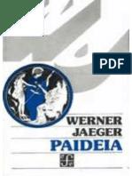 Werner Jaeger - Paideia (Libro IV)