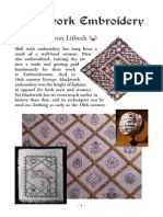 Blackwork Embroidery Booklet v2