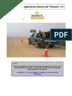 Reglamento de Tránsito Barrick 2009