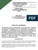 Plan de Area de Tecnologia e Informatica 2014