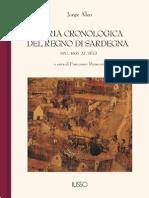 Aleo - Storia Cronologica e Veridica Dell'Isola e Regno Di Sardegna Dall'Anno 1637 All'Anno 1672