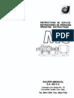 Manual de Operacion Bombas Sulzer
