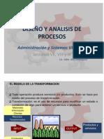 Diseño y Analisis de Procesos