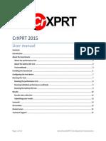 CrXPRT 2015 User Manual