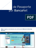 Tutorial Pago Impuestos Pasaporte SER BancaNet