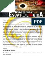 CONVERGENCIA ESCATÓLOGICA