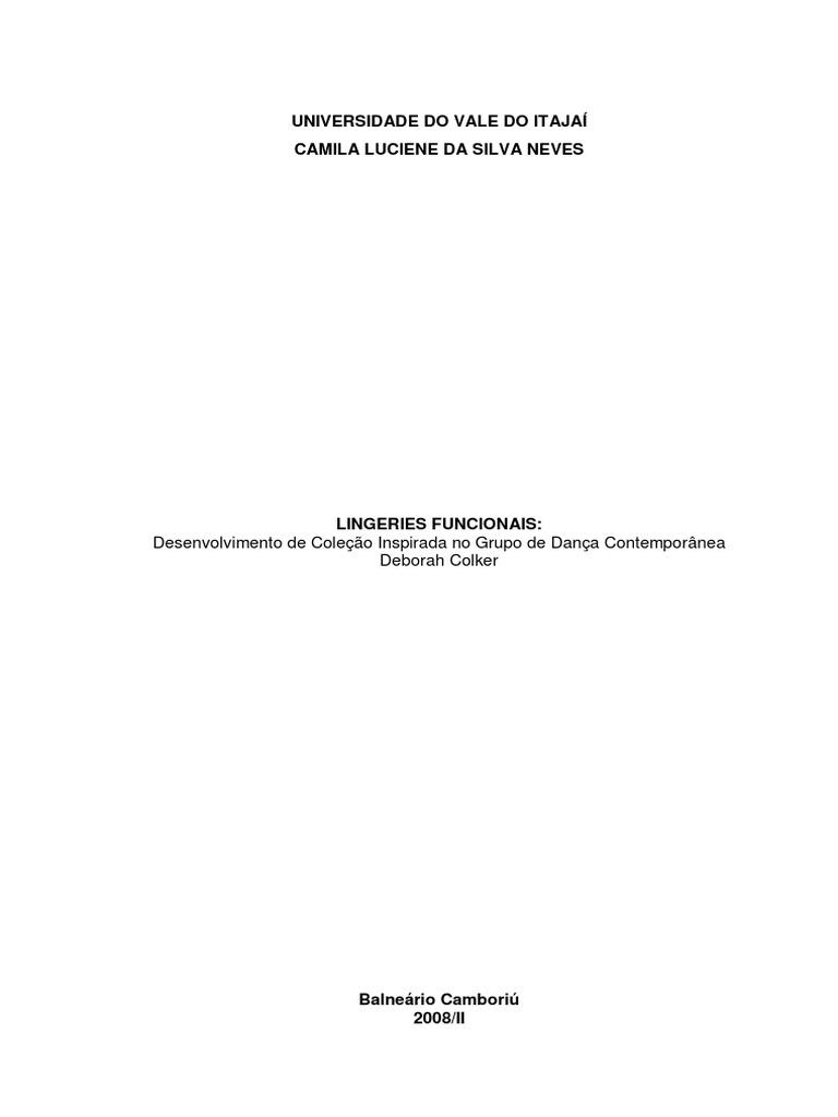 Curso de Lingeries a80c37e4607