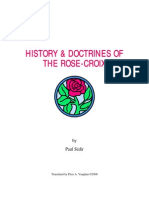 Sedir-History and Doctrine of the Rose-Croix