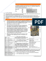 CompTIA A+ Certification Core Hardware CHEATSHEET