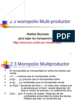 2.3.Monopoliomultiproductor