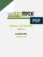 CivilADS PRO Manual